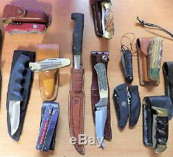 Knife Collection Total Of 28 Knives No Reserve