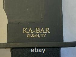 Ka-Bar US John EK 45 Commando Fixed Blade Knife withSheath Hunting Camping Fishing