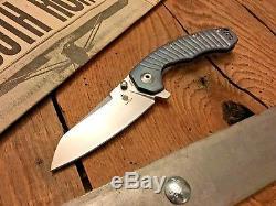 Kizer Cutlery Ki4450Ti2 TomCat Knives Tigon Flipper 3.65 S35VN Rainbow Milled T