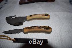 Knives of Alaska Knife Light Hunter Deer Hunting Combo Elk Bear Cleaning WithSteel