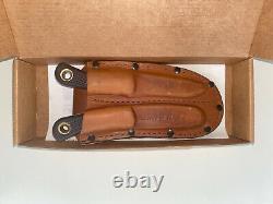 Knives of Alaska Muskrat/Cub Bear Combo Knife Set Suregrip Handle Slightly Used