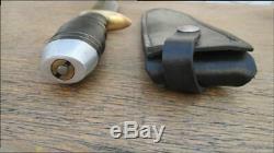 LARGE Vintage GUTTMAN Vietnam War-Era Carbon Steel Bowie Fighting Knife, Italy
