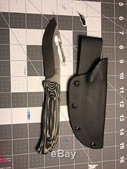 Lightly Used Benchmade Saddle Mountain Fixed Blade Hunting Knife