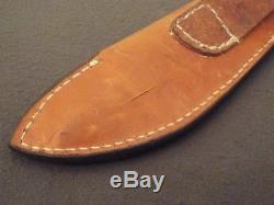 Lon Humphrey Custom Brute de Forge Hunting Knife Dark Curly Maple Forged 1095