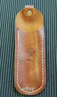 MARBLES M. S. A. Safety Hunting Pocket Knife & Sheath Box2003 RARE USA