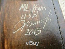 ML Knives, Matthew Lesniewski Forged Bushcraft Fixed Blade Knife