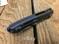 Massdrop x Ferrum Forge Buc Titanium Frame Lock Bronze Ti Folding Knife