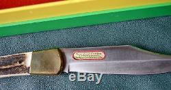 Near Mint 1977 Vintage Puma Emperor 915 Folding Lock Blade Hunting Knife Germany