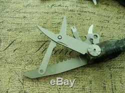 Nm Gerber USA Diesel Multi Tool Plier Pocket Knife Hunting Vintage Knives Tools