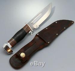 Nice! 1924 1933 Vintage Remington UMC RH34 5 Hunting Fighting Combat Knife