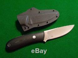 Old RARE BOB DOZIER CUSTOM DK-YSBRH YUKON PRO SKINNER Upswept Hunting Knife