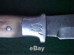 Old Ruana Hunting Skinning Knife Vintage 4.5 Blade Excellent NR