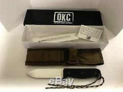 Ontario Knife Company SK-5 Blackbird Micarta Handle Fixed Blade Knife