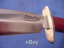 Original Randall Model 16 Special Fighter Knife withRMK Sheath and Stone