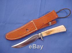 Original Randall Model 7 4 1/2 Knife with sheath