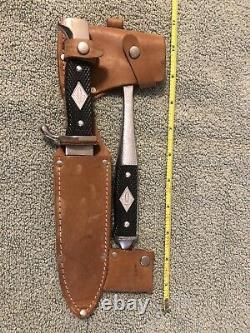 Othello Anton Wingen Jr. Knife Boy Scouts Hatchet Combo Solingen Germany NOS WOW