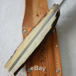Othello Original Bowie Knife Messer Wingen Solingen + Scheide top 06473