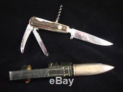 PRE1964PUMA WERK-BESTELL No. 3591ORIG WAIDMESSERGAME KEEPERHUNTING KNIFE