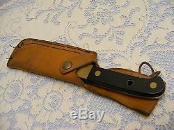 PUMA ALASKAN 6030 HUNTING KNIFE ORIGINAL LEATHER SHEATH super keen cutting steel