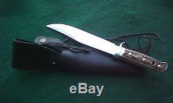 PUMA ORIGINAL BOWIE German Stag Hunting Knife 6.5 Blade Near Mint with Sheath
