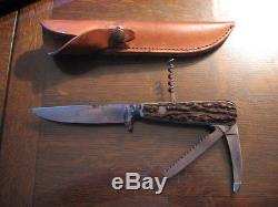 PUMA WERK 3591 Original WAIDMESSER fur Schalenwild Game Keeper Knife Waidmeffer