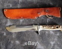 Puma 6377'White Hunter' 6 Hunting Knife withSheath, pre-1964