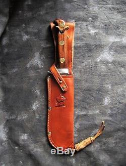 Puma 6399'White Hunter' 6 Hunting Knife withSheath, 1950's