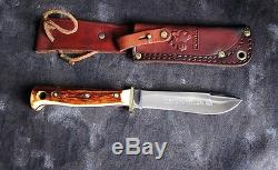 Puma Hunters Pal 6397 Hunting Knife withStag, 1974 Germany