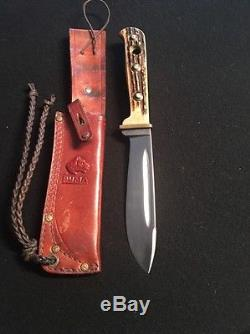 Puma Vintage Stag Hunting Fixed Blade Knife