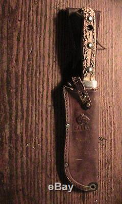 Puma White Hunter 6377 hunting knife in Puma sheath