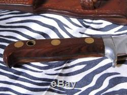 Puma White Hunter Hunting Knife 6399 Made In West Germany (njl013603)