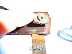R. H. Ruana Bonner Montana Custom Skinning Hunting Knife M Stamp-original sheath
