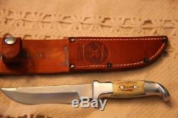 R. H. Ruana Model 12B Sticker Hunting Knife Made 1983 Per Ruana Works
