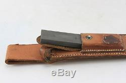 Randall Blade Knife 7 Brown Leather Case Hunting Original Authentic