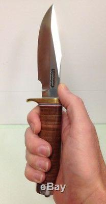 RANDALL MADE KNIVES Model 23 Gamemaster Leather Handle Sheath Hunting Knife