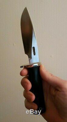 RANDALL MADE KNIVES Model 28 WOODSMAN Knife SS BM NS & 2 Sheath Custom Sullivan