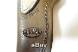 RANDY LEE St Johns AZ Custom 7 3/8 Fixed Blade HUNTING KNIFE & Sonja Lee Sheath
