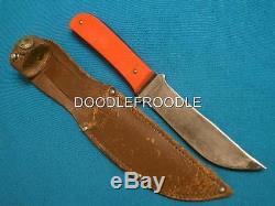 Rare Antique Western Boulder Red Outers Hunting Skinner Knife Knives Vintage Old