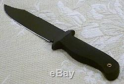 RARE Cold Steel BUSH RANGER Carbon V Combat Survival 12 1/2 Knife 37CF USA Made