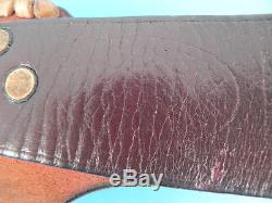 RARE MORSETH HANDMADE MODEL 1 HUNTING KNIFE (PARALLEL NAME), c. 1960-1964