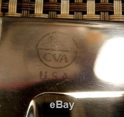 RARE USA 1980s HUGE CVA 12 BOWIE HUNTING KNIFE CUSTOM VINTAGE SHEATH SURVIVAL