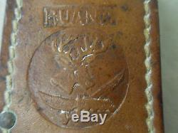 Rare! Vintage Ruana Hunting-fighting Knife, 9/1/2 Bonner