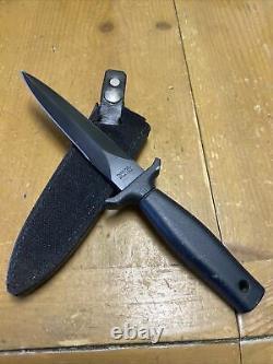 RARE/VINTAGE VALOR 486 FIXED BLADE BOOT KNIFE- SEKI JAPAN-WithORIGINAL SHEATH