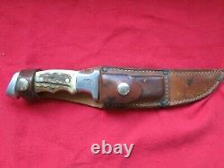 RARE Vietnam War US Custom R. H. Ruana M Bonner Montana Hunting/FIGHTING KNIFE