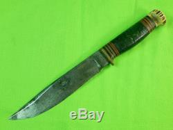RARE Vintage US 1905-09's M. S. A. Marbles Gladstone MI Large Hunting Knife