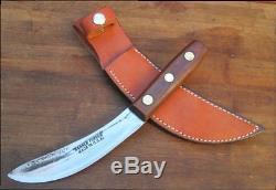 RAZOR KEEN Vintage KEEN KUTTER Hammer Forged Carbon Steel Hunting Skinning Knife