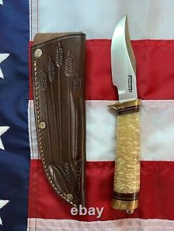 Randall Knife Hybrid Behring Made Stanaback Special 4' S. S. With MUSK OX Handle
