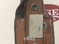 Randall Knife Model 19 5 Stag Handle Smooth Button Sheath Excellent