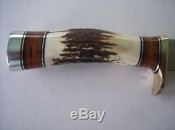 Randall Made Knife Model #25 Stag Trapper Mint Condition Free Shipping