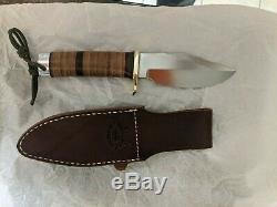 Randall Made Knives Model 19-5 Bushmaster Cabon Steel LH Sheath (Unused)